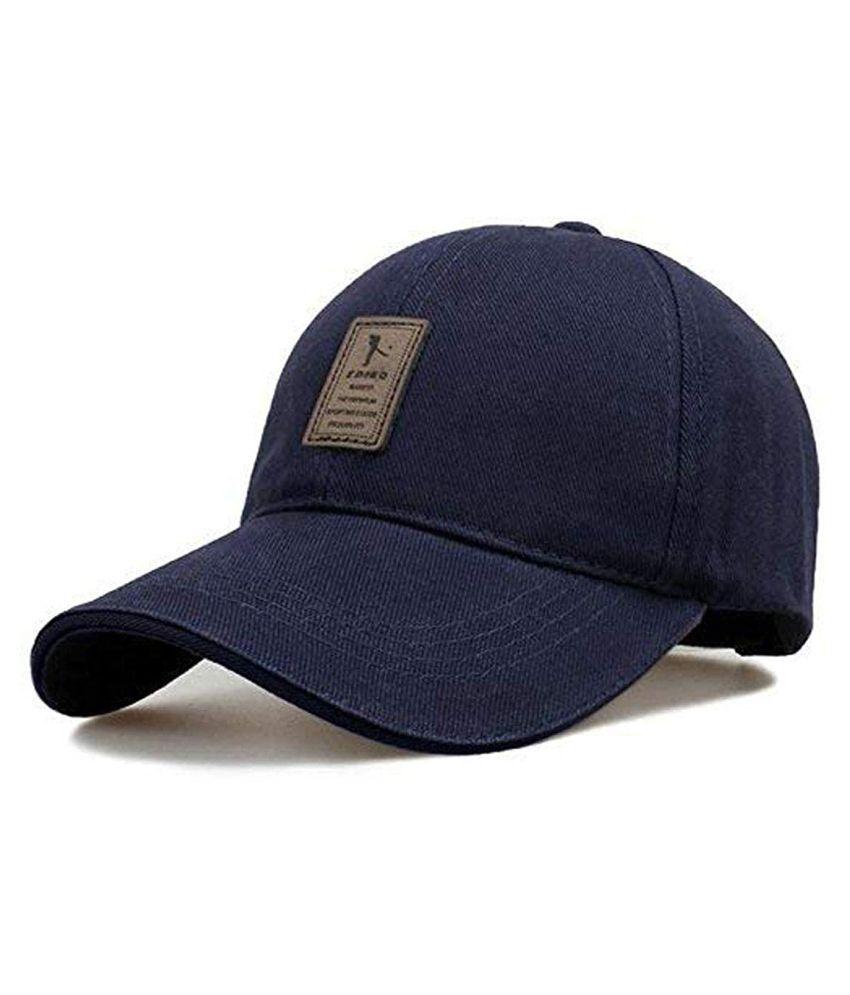 TyranT Cotton Baseball Adjustable EDIKO Caps for Men/Women Unisex Baseball Hat Blue
