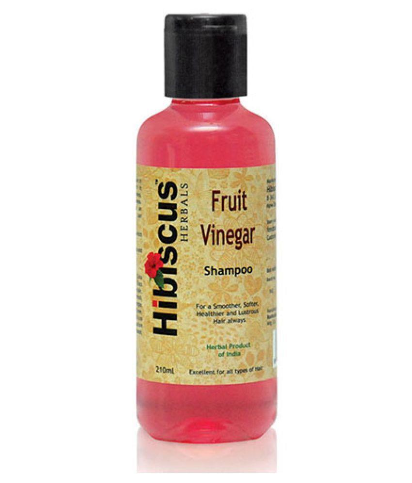 Hibiscus Herbals Fruit Vinegar Shampoo 210 mL