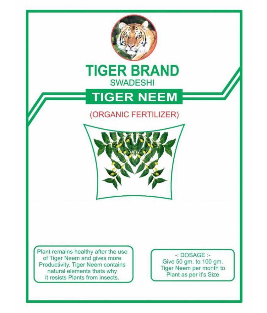Tiger Neem Organic Fertilizer (1900 Gms) Powder 2 kg