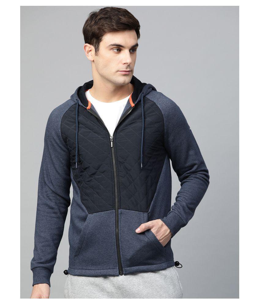 Alcis Navy Polyester Jacket
