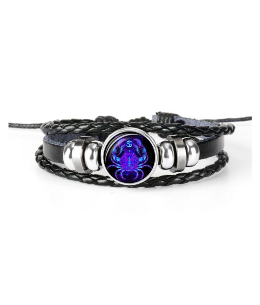 Chocozone Cancer Zodiac Mens Bracelets & Bracelet For Boys