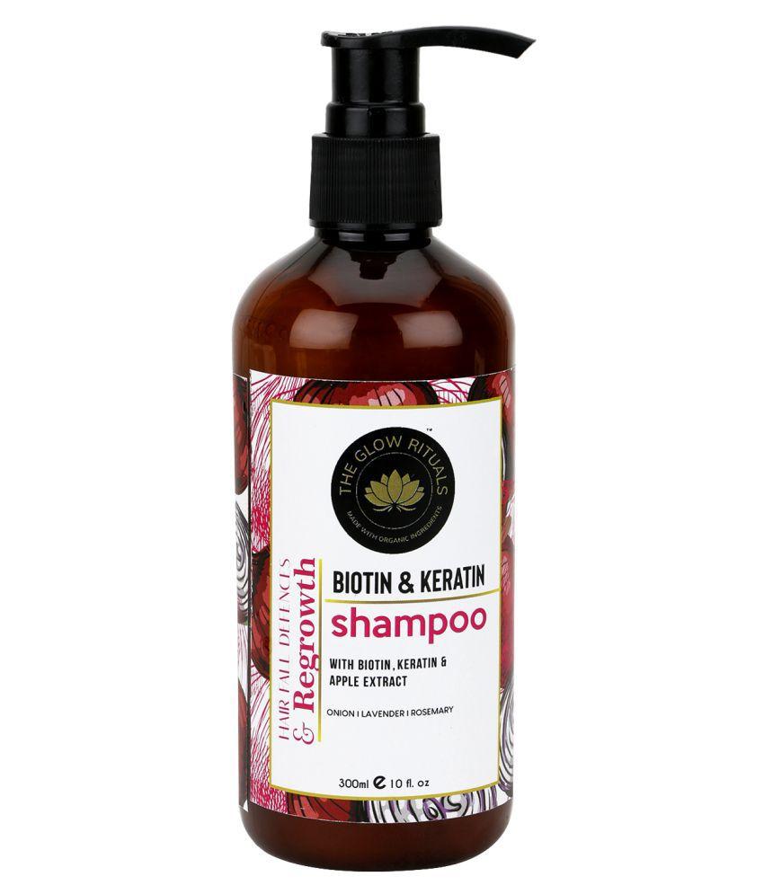 The Glow Rituals Biotin & Keratin Shampoo 300 mL