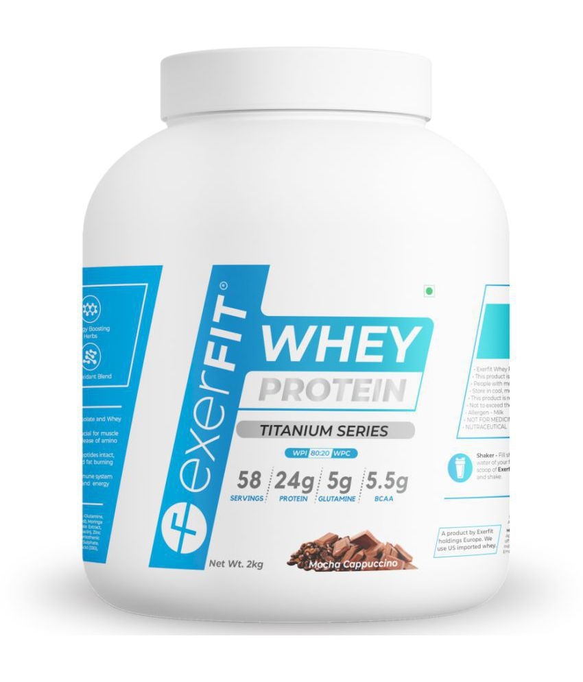 EXERFIT Whey Protein Isolate with CLA & Carnitine 2 kg