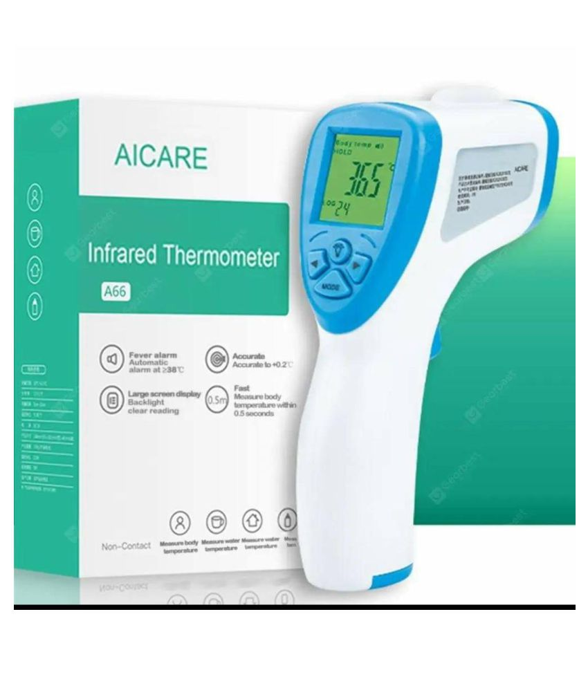 AICARE Medical Infrared Thermometer A66 Hard