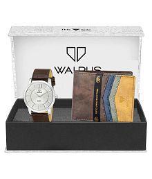 Walrus WWWC-COMBO48 Leather Analog Men's Watch