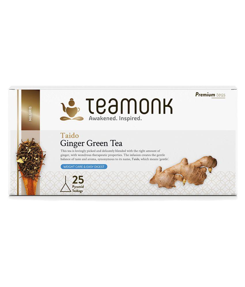 Teamonkglobal Green Tea Bags 25 no.s