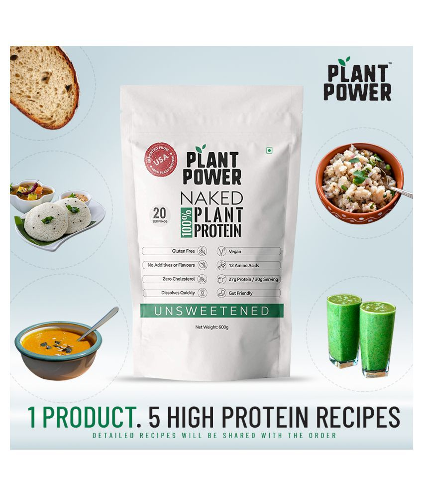 Plant power 100% Naked Plant Protein Isolate 6 kg: Buy