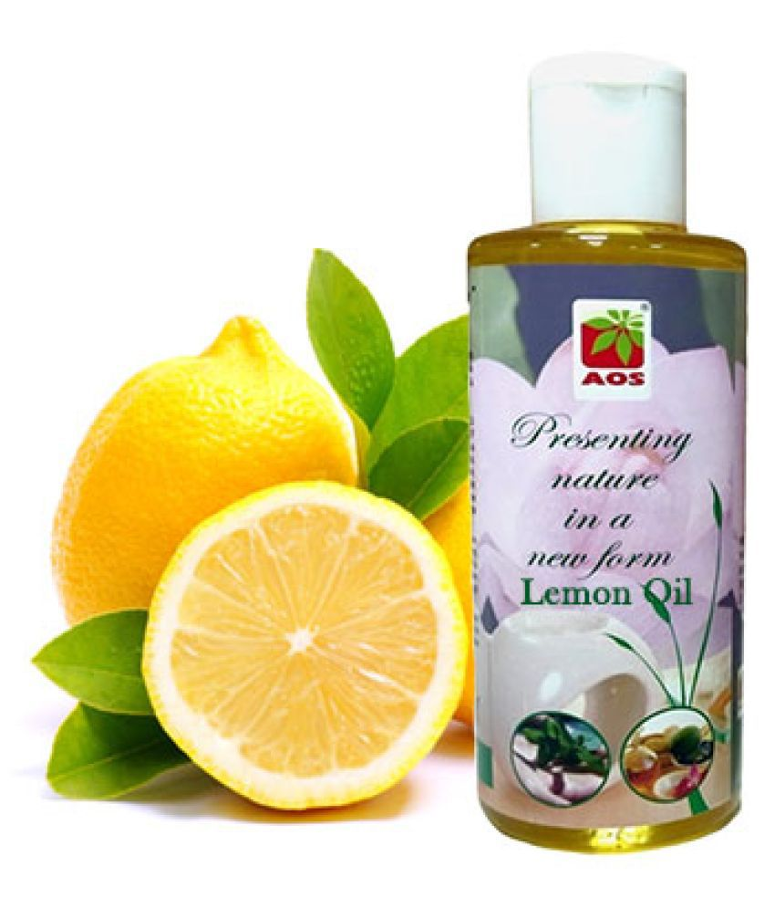AOS Products 100% Pure  Lemon oil ( 60 ml )