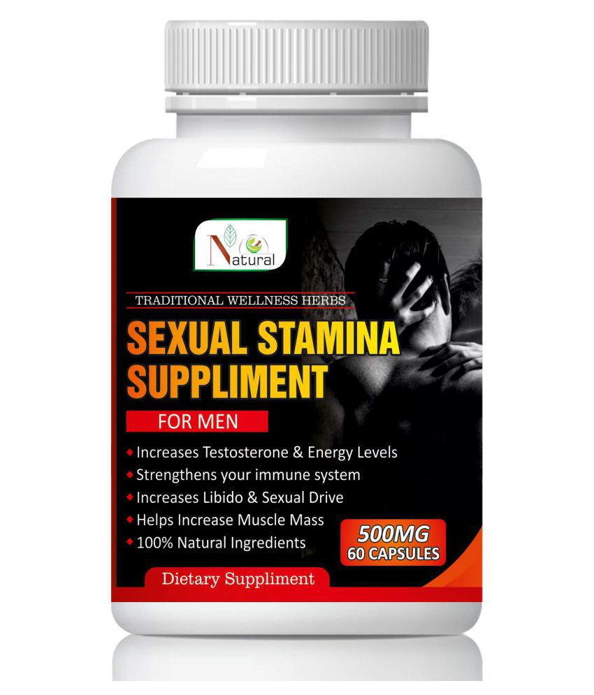 Natural Sexual health suppliment for men Capsule 60 no.s