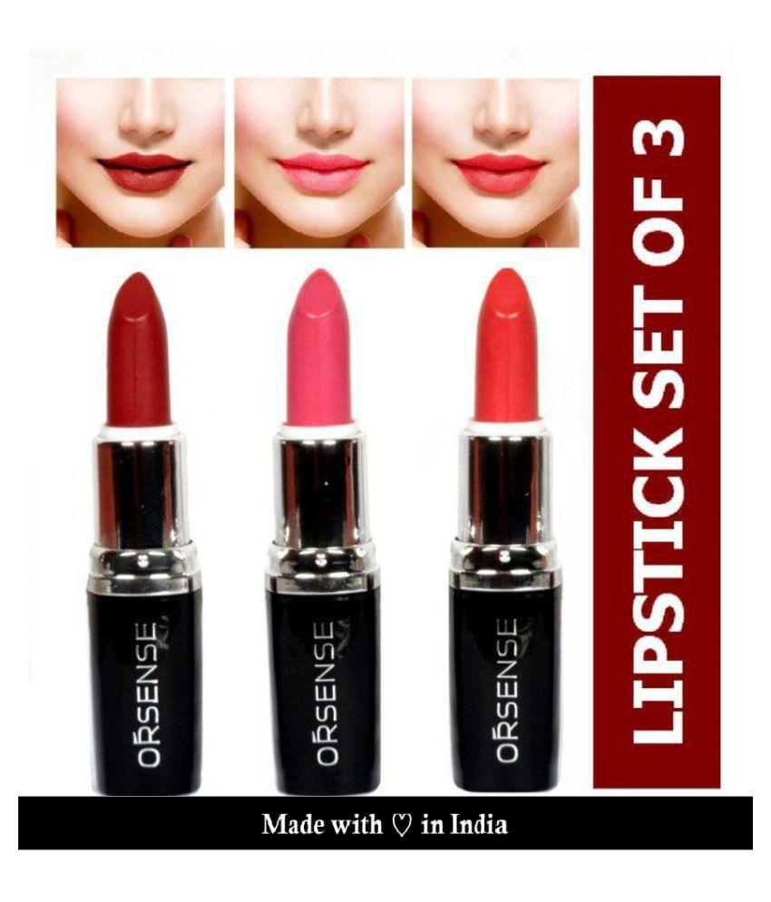 orsense Lipstick Multi SPF 15 Pack of 3 50 g