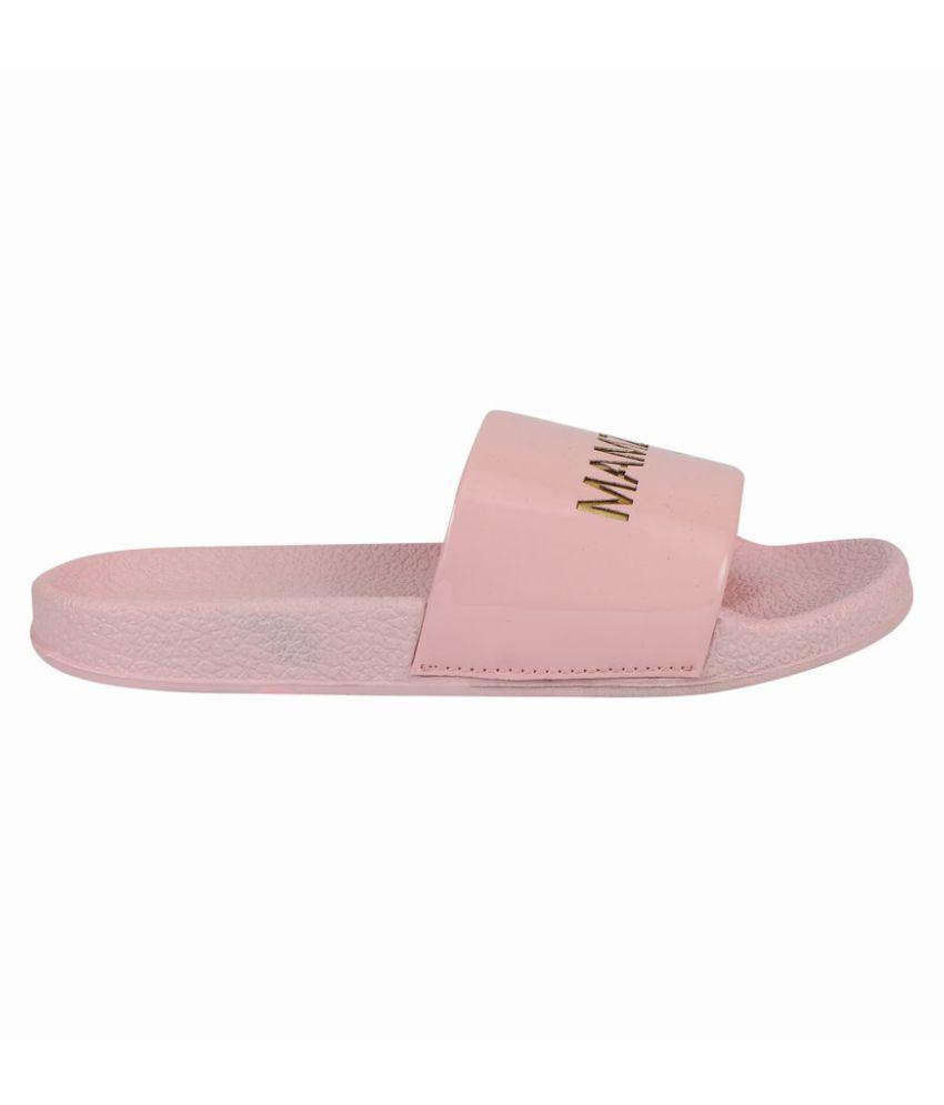 MAMZER Pink Slippers
