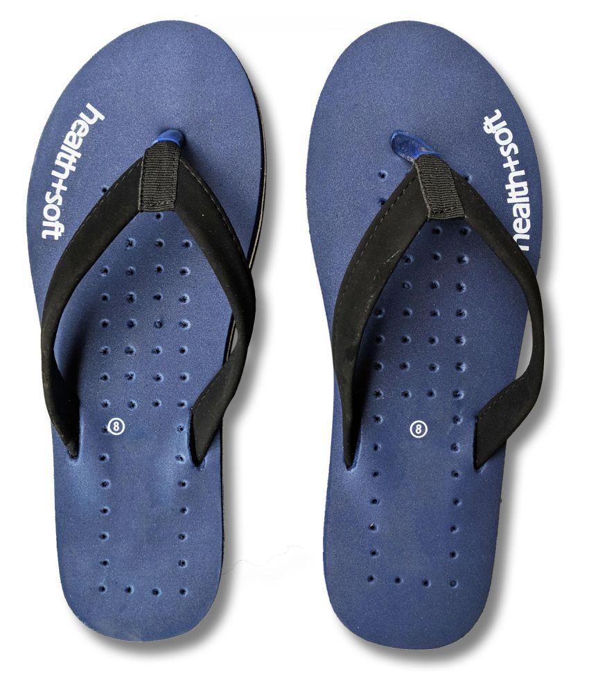 Riasa Fashions Navy Slippers