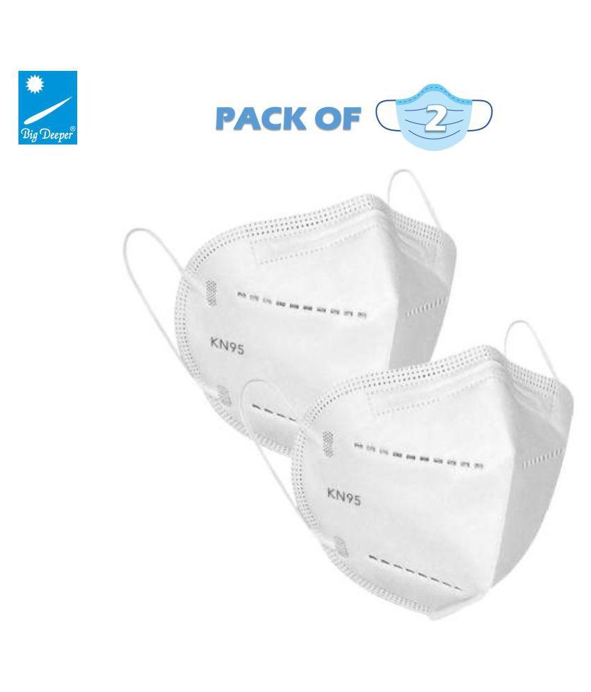 Big Deeper KN95 Face Mask 5 Layer Filter N95 Mask