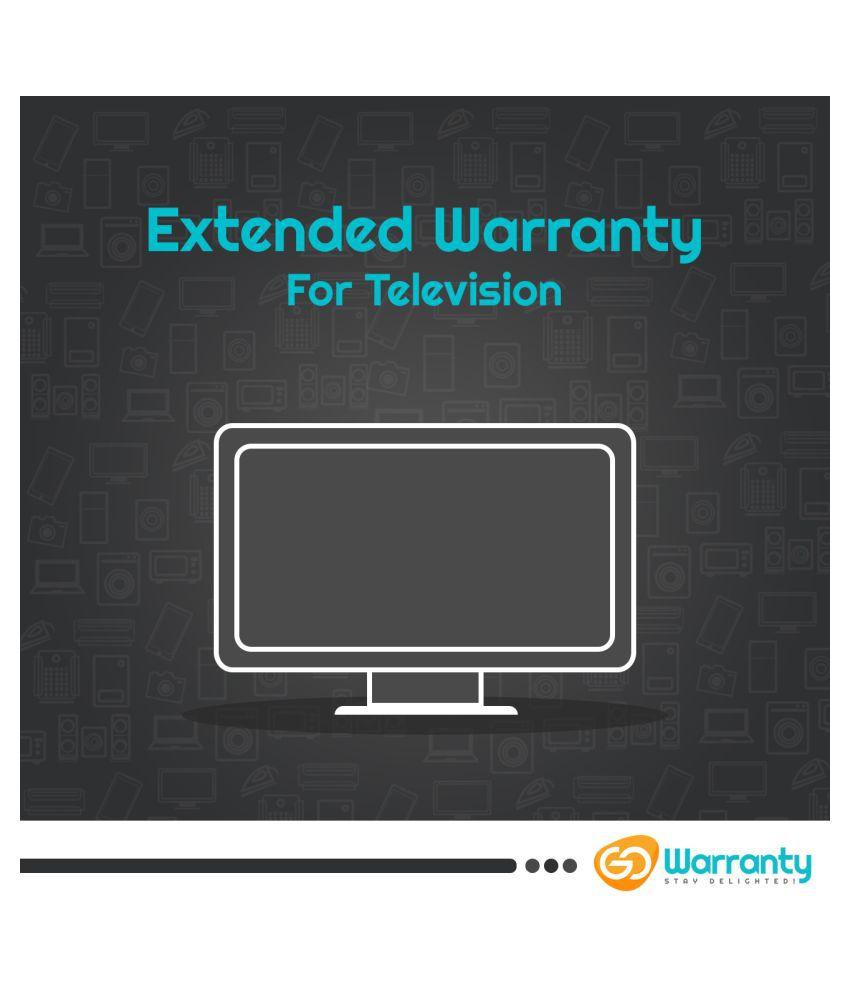 GoWarranty Television Extended Warranty 100001 - 150000