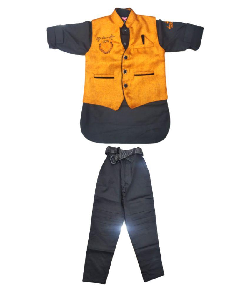 boys waistcoat and pant set