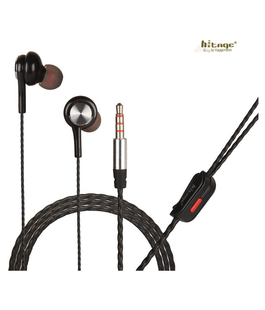 OBRONICS Hitage AKG Tuned Great Bass Samsung Galaxy S8+ In Ear Wired Earphones With Mic