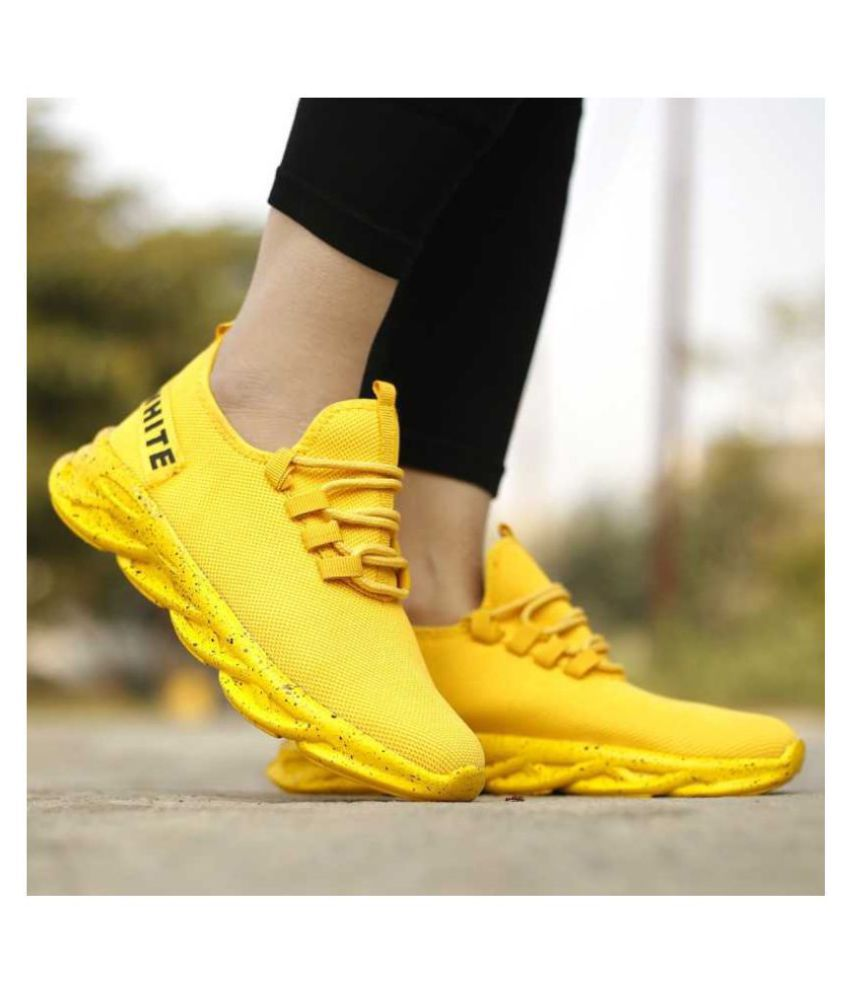 Ashtro Outdoor Yellow Casual Shoes