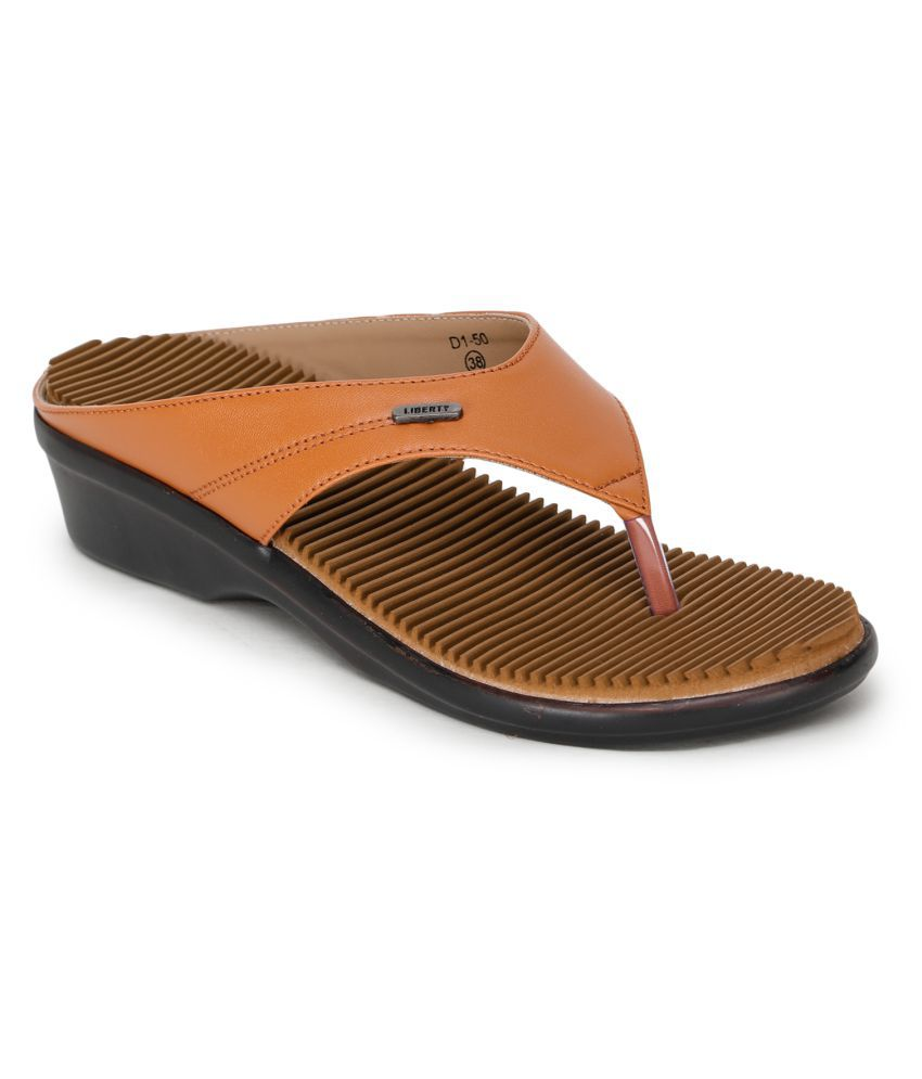 Liberty Brown Slippers