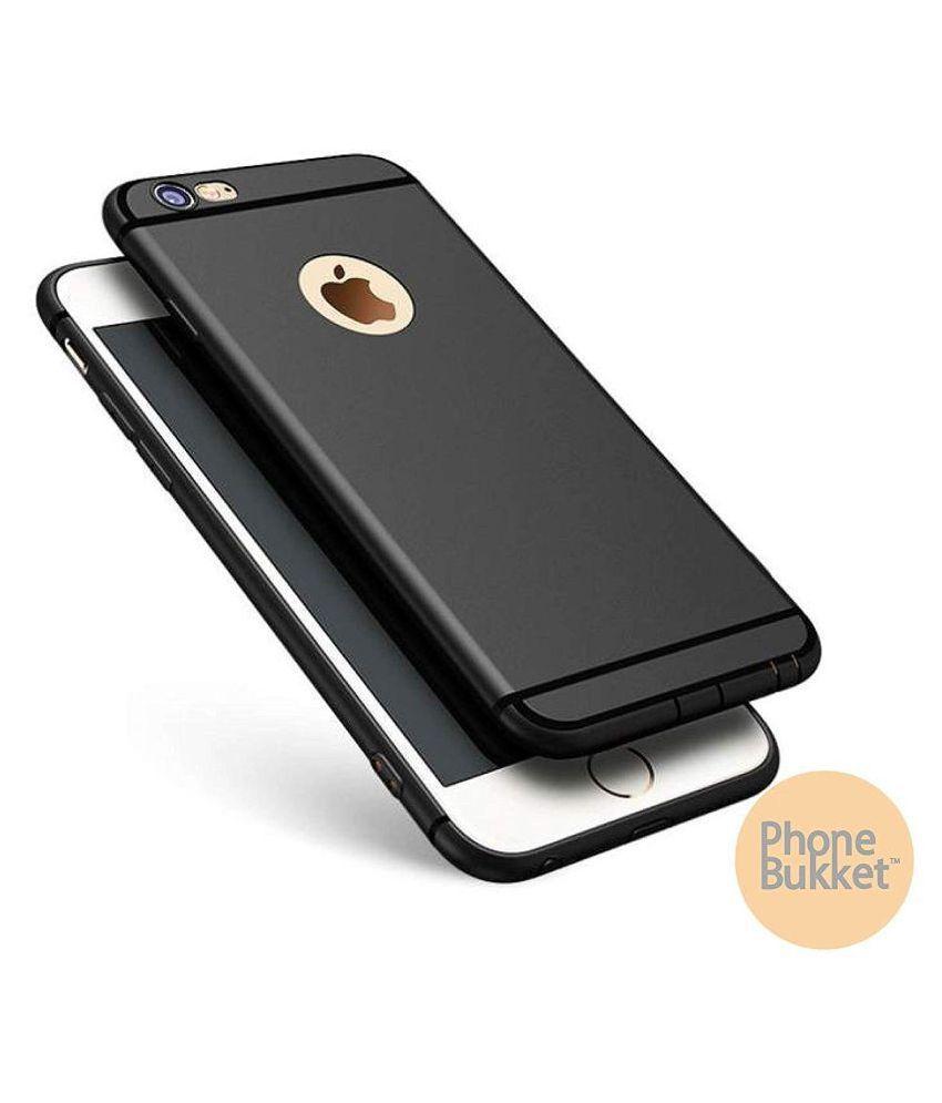 PhoneBukket Soft TPU Black Back Case for Apple iPhone 6 Plus