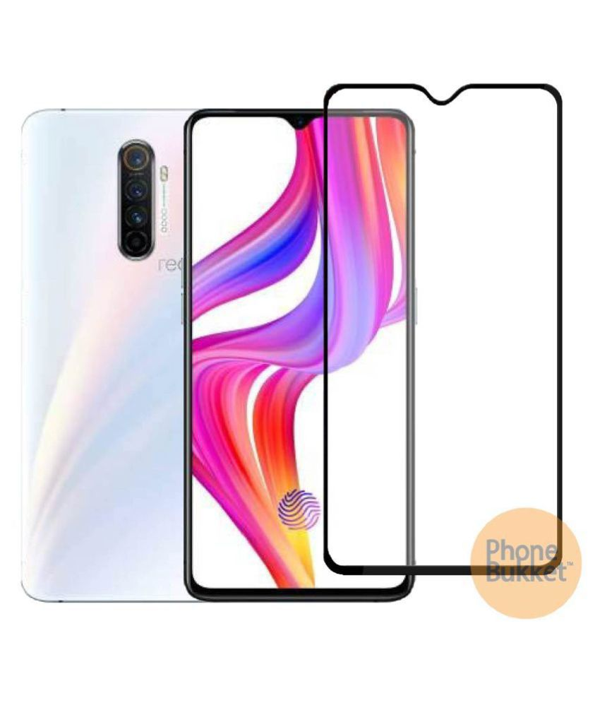 Realme X2 Pro Tempered Glass Screen Guard By PHONEBUKKET Anti-scratch, Durable & Precise