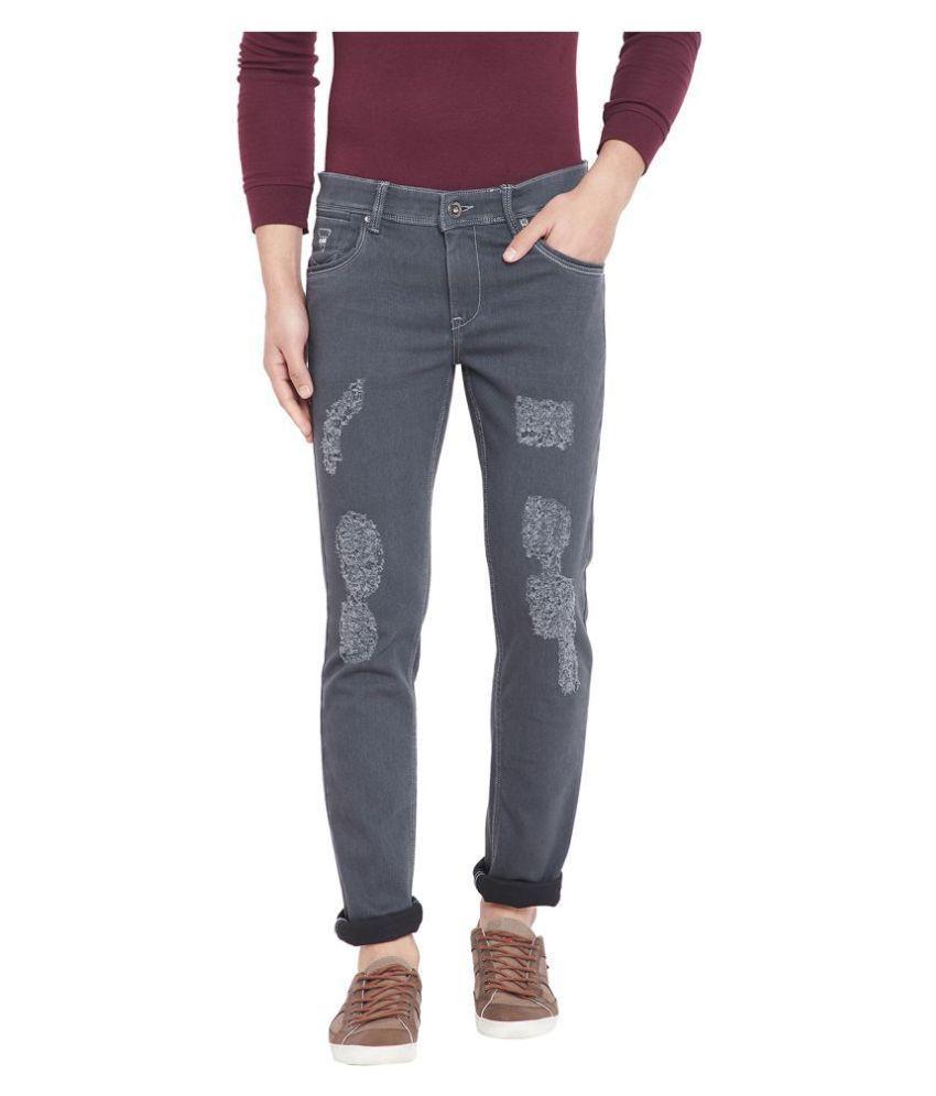 American Archer Grey Slim Jeans