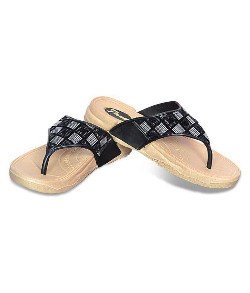 KD Slipper Black Slippers