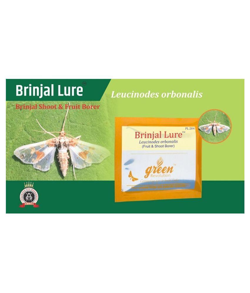 Brinjal Pheromone Lure (Leucinodes orbonalis pheromone lure) for Brinjal Fruit And Shoot Borer pack of 10