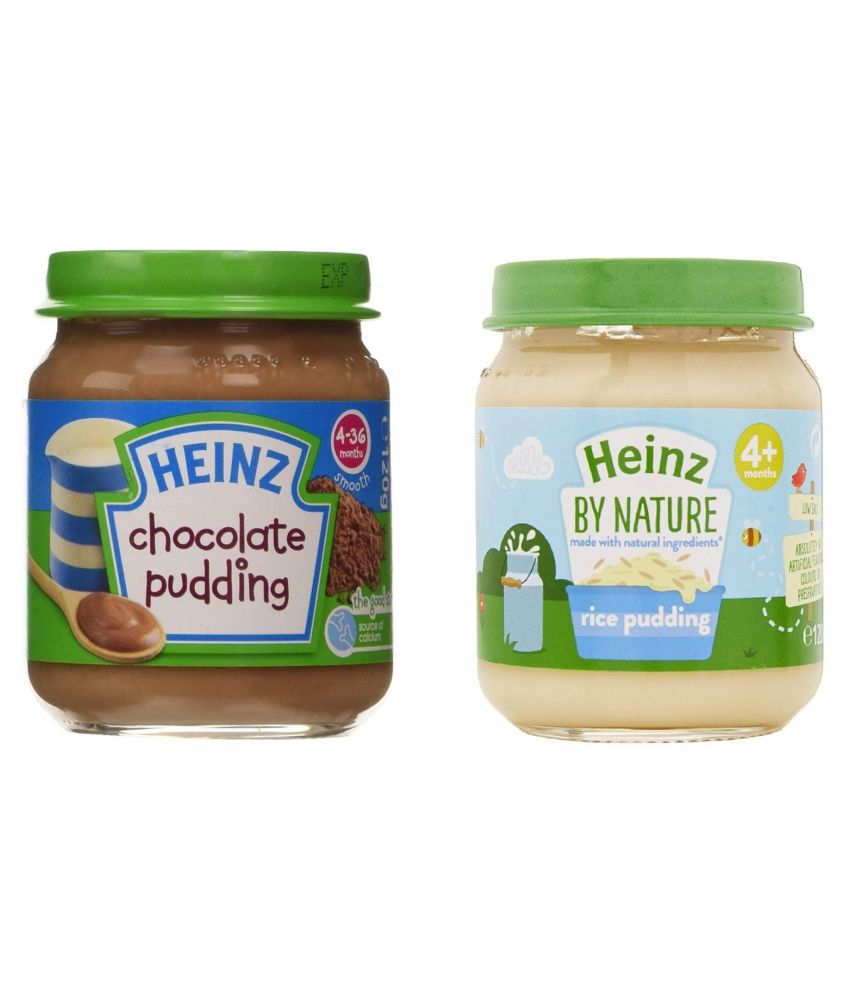 Heinz Chocolate  Pudding Snack Foods for 6 Months + ( 200 gm ) Pack of 2