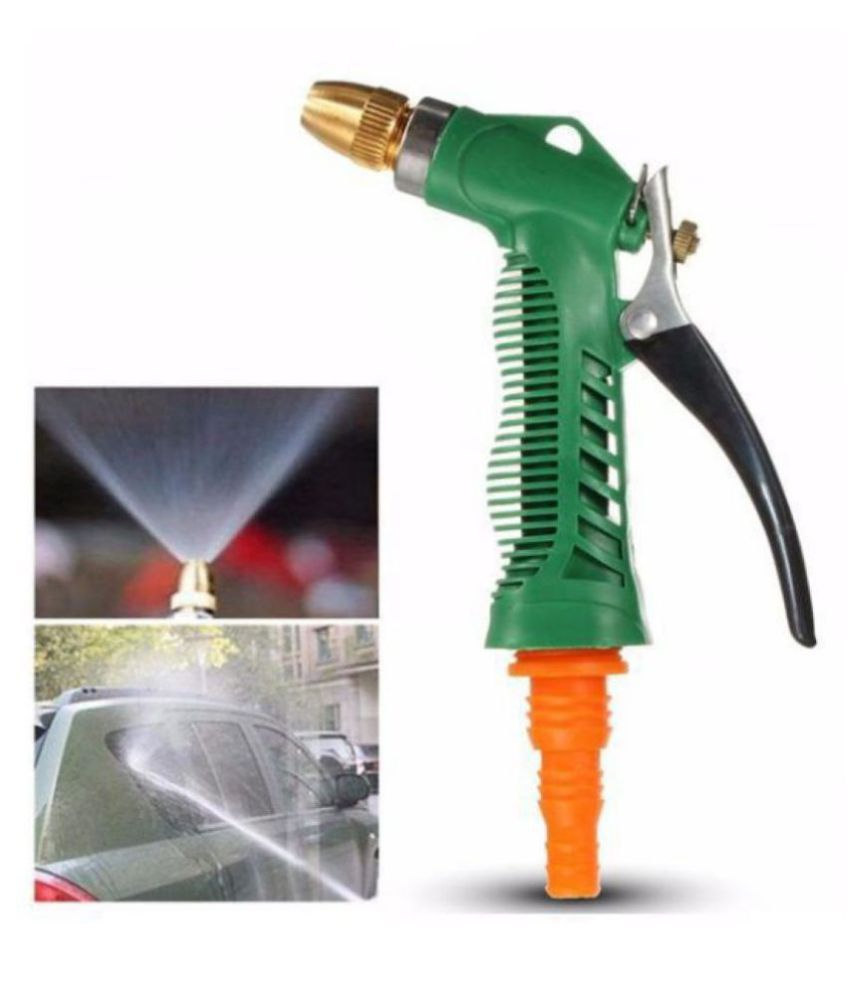 Holy Ratna Plastic Trigger and Brass Nozzle Car & Parking Wash Water Spray Gun.