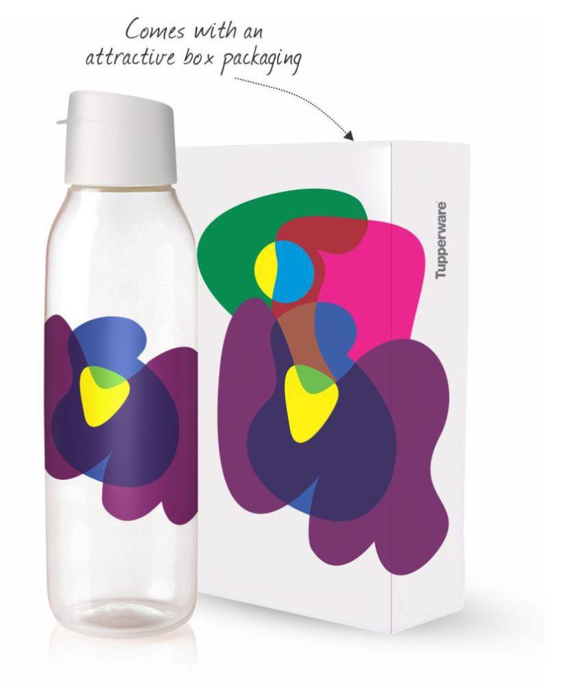 Tupperware White 750 mL Water Bottle set of 2