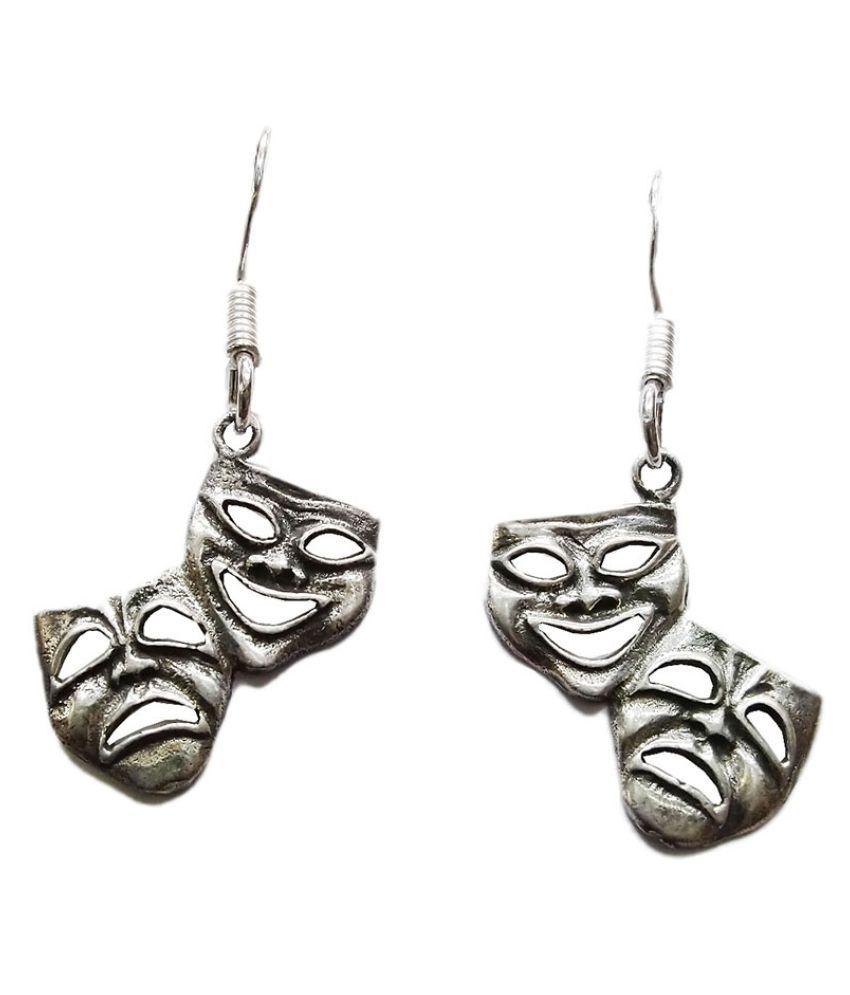 Vinayak 925 sterling Silver hanging earring (Color life)