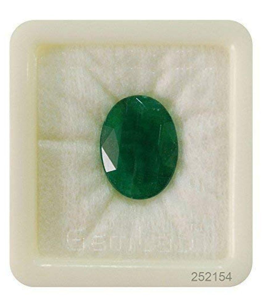 SARVNI GEMS 6 - 6.5 -Ratti Self certified Emerald