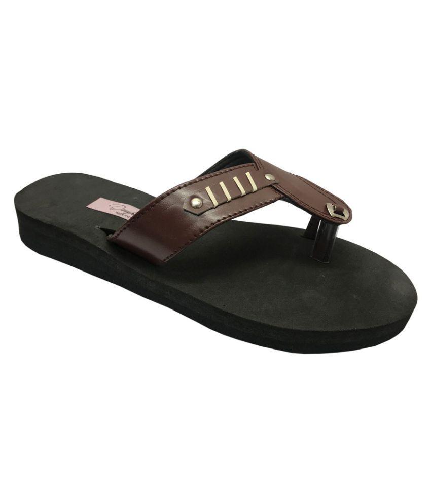 Daughters Brown Slippers