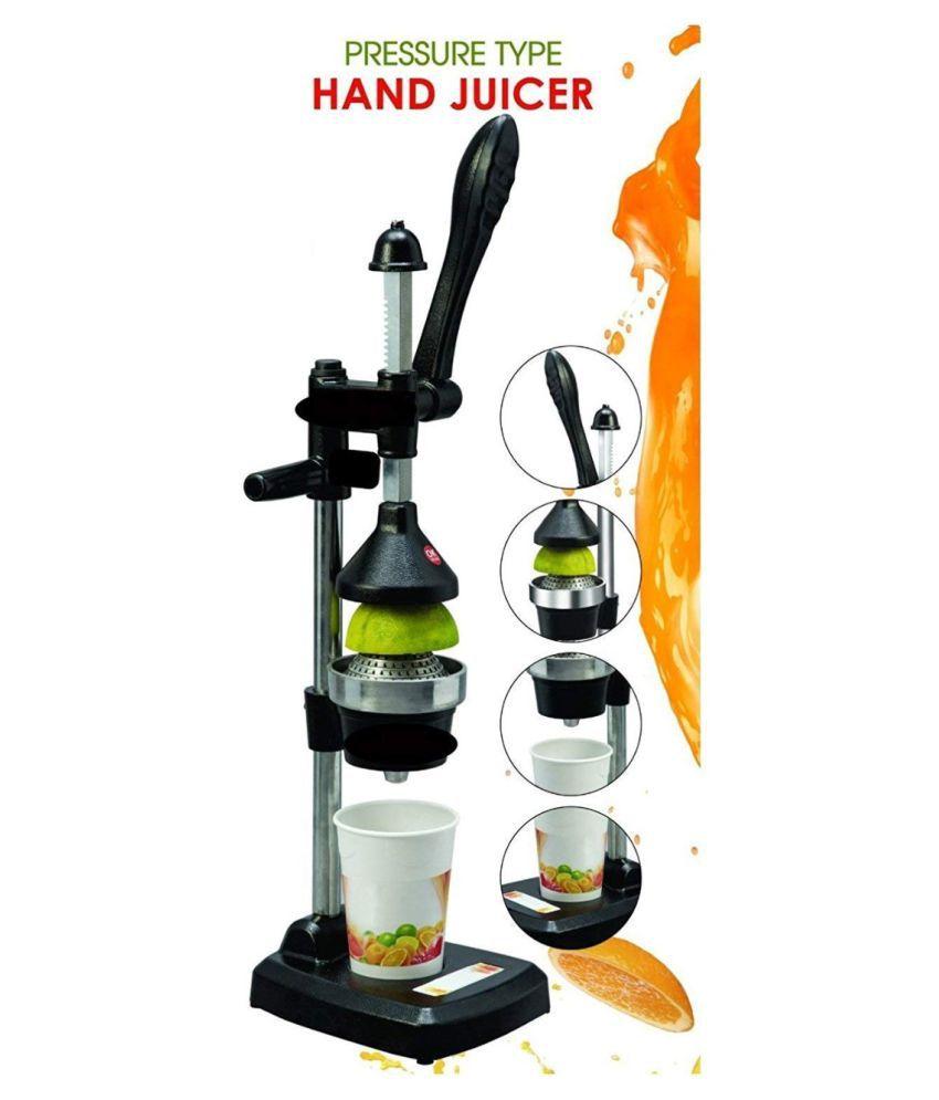 SignoraCare Hand Press Juicer Black Manual Juicer