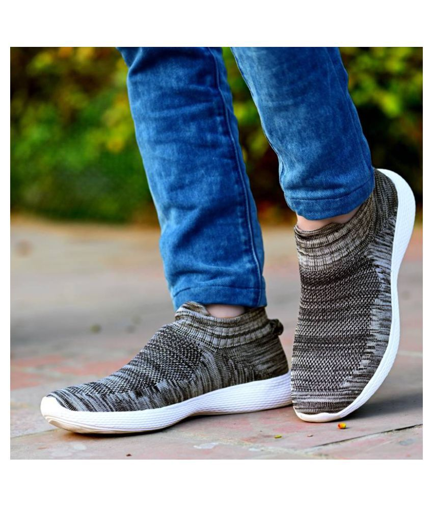 Global Rich Sneakers Gray Casual Shoes
