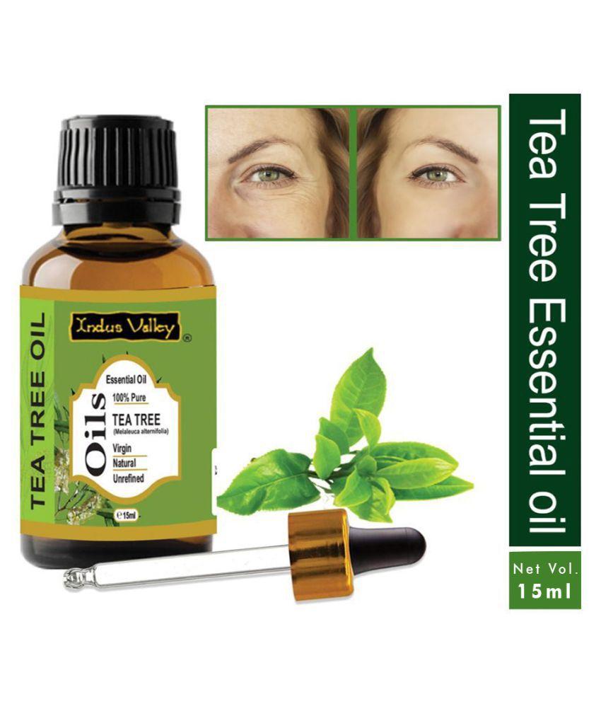 Indus Valley Tea Tree Oil For Acne & Pimple Essential Oil 15 mL