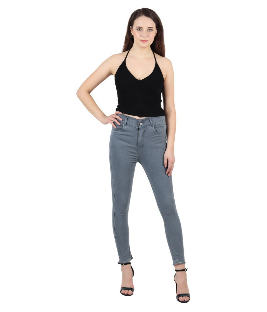 Veravibe Denim Jeans - Grey