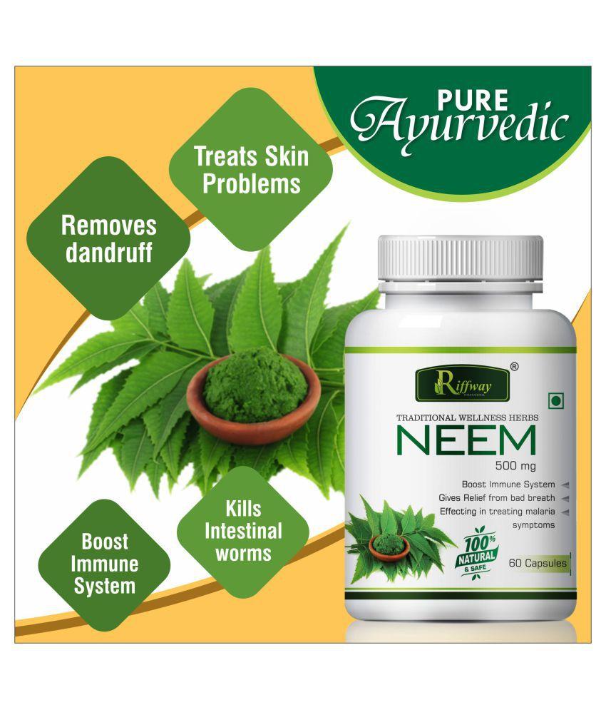 Inlazer Neem herabl purifier  blood cells  Capsule 60 no.s Pack Of 1