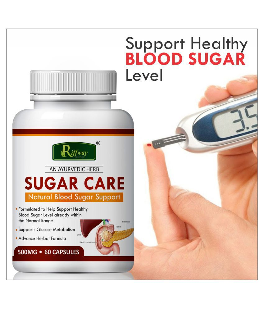 Inlazer Sugar care supports blood sugar Capsule 60 no.s Pack Of 1
