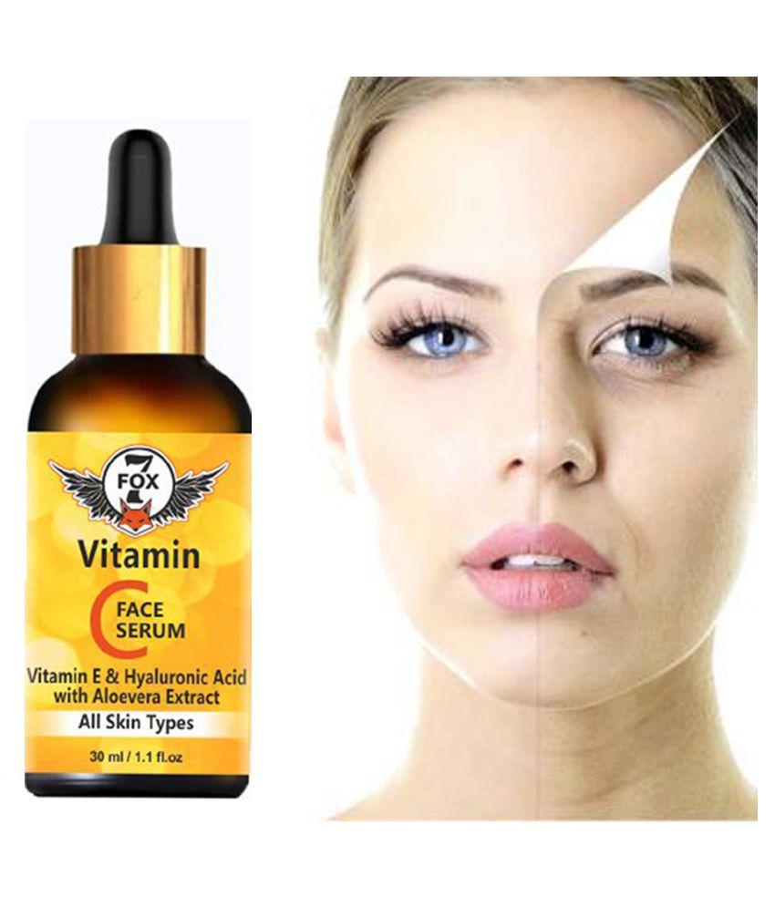 7 FOX Vitamin C Serum - Skin Whitening & Anti Ageing Face Serum 30 mL