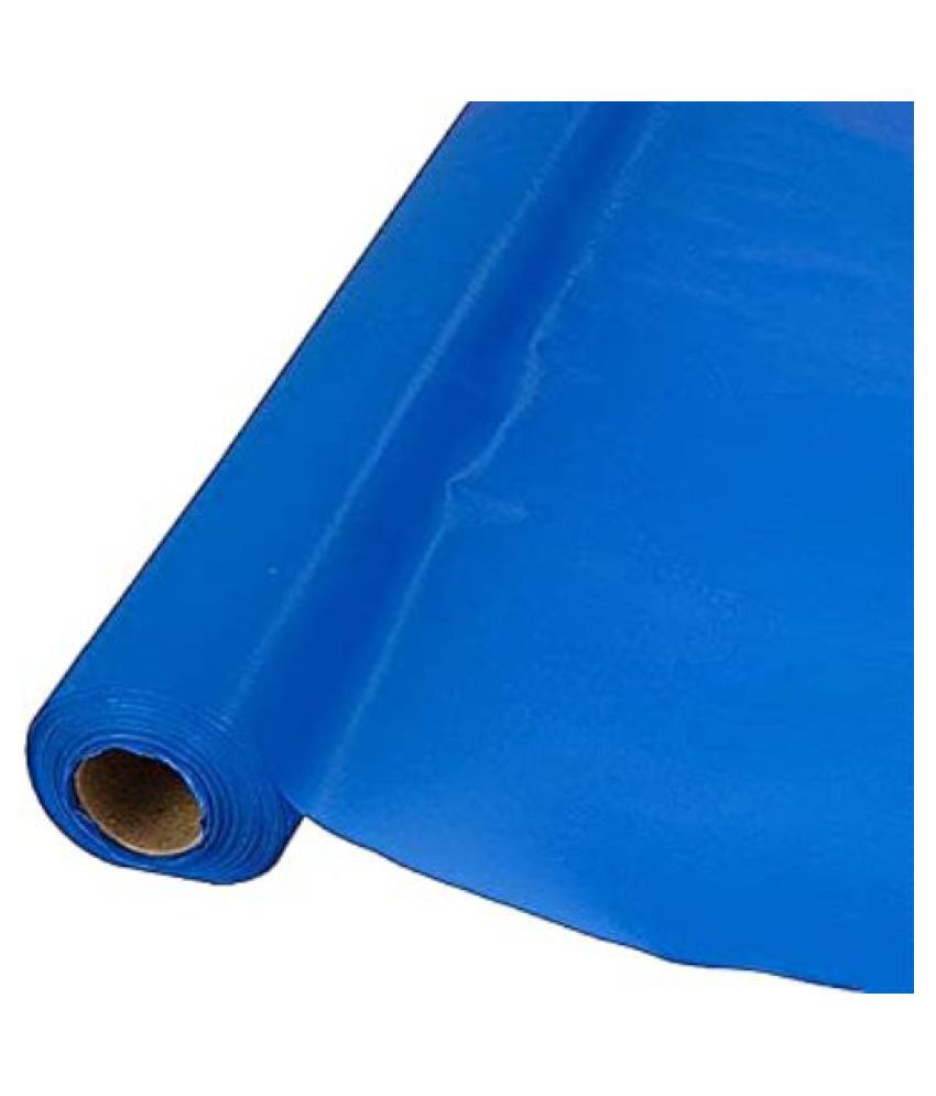 Blue tarpaulin sheet (12x18) feet For Covering Purpose