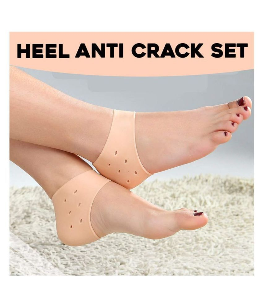 Silicon Heel Repair Protector Breathable Free Size