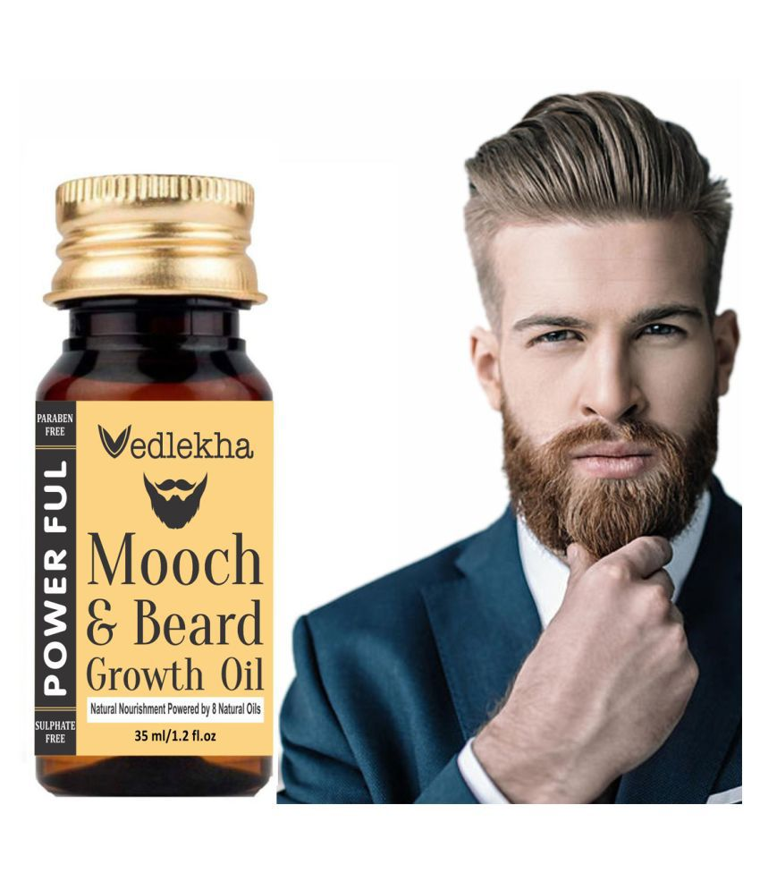 Vedlekha Mooch & Beard Oil (Growth) 30 ml