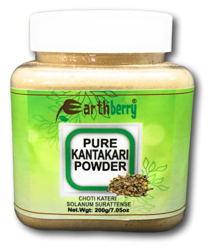 EARTHBERRY PURE KANTAKARI PIOWDER Powder 200 gm
