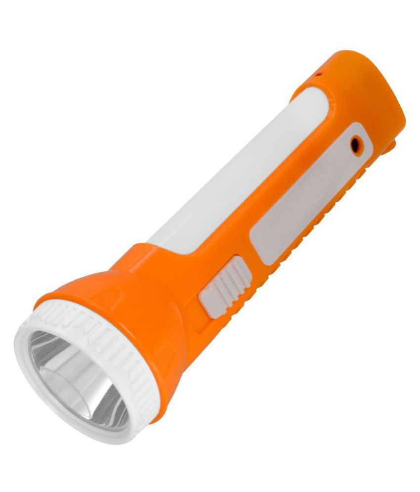 Jm 5W Flashlight Torch Rechargeable - Pack of 1