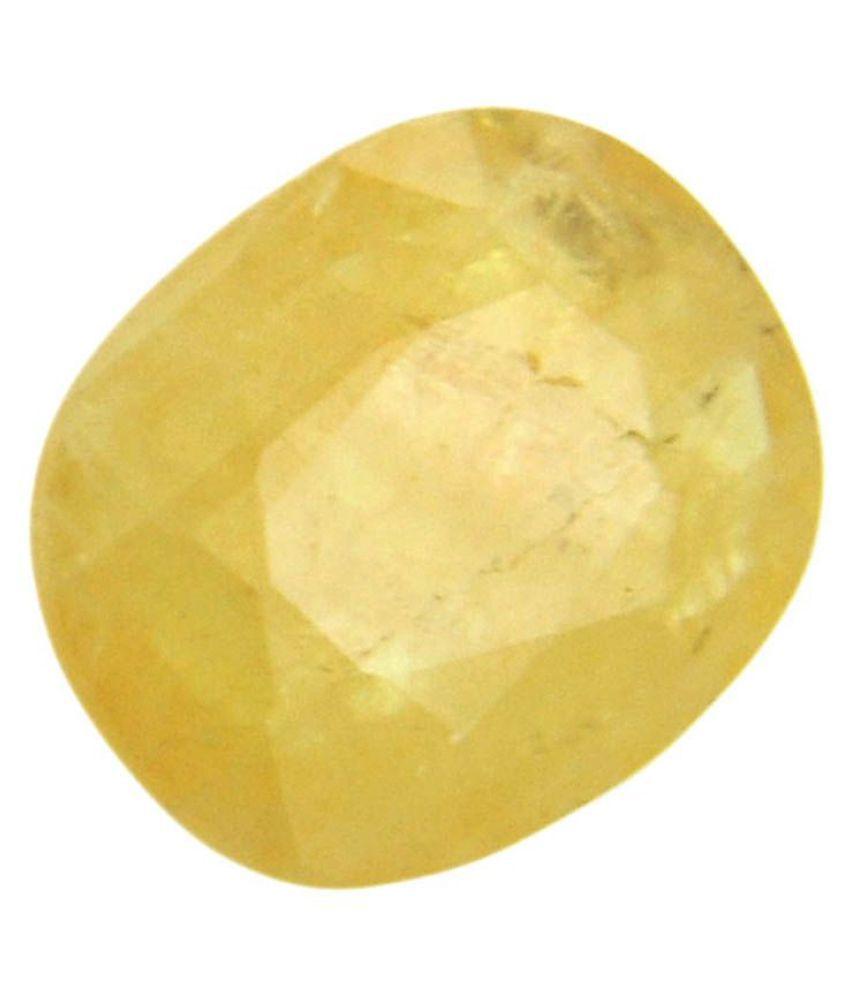 Moonlightjewels99 3 - 3.5 -Ratti Self certified Yellow Sapphire (Pukhraj)