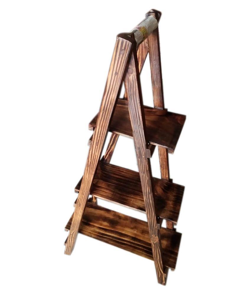antique wooden book/rack shelves