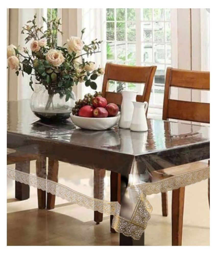 CreadCraft 4 Seater PVC Single Table Covers