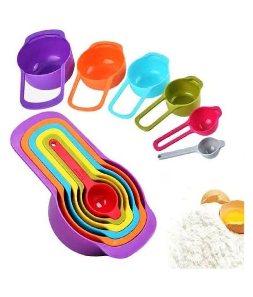 KP Virgin Plastic Measuring Cups & Spoons Set