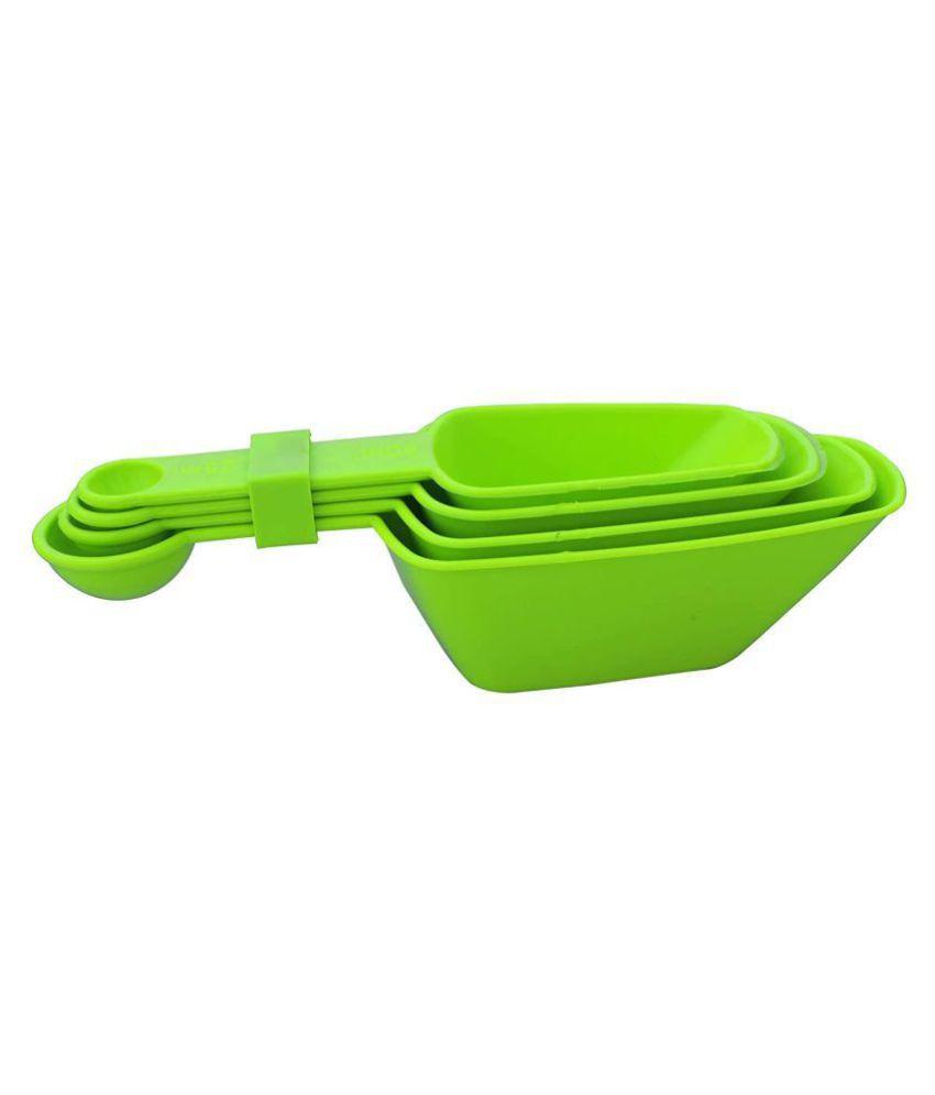 Mahi Sales Virgin Plastic Measuring Cups & Spoons Set